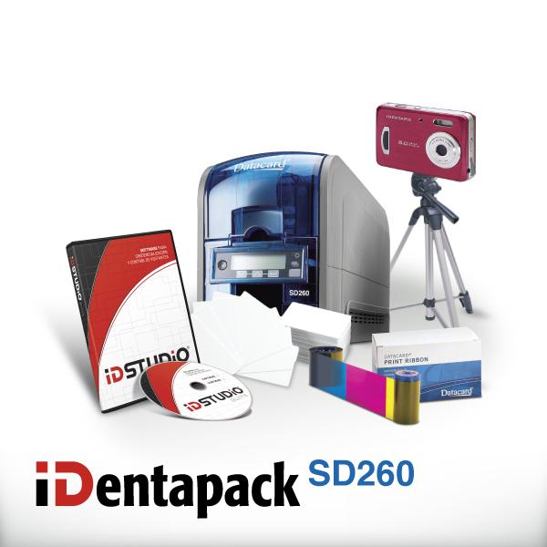 IDENTAPACK-DATACARD-SD260
